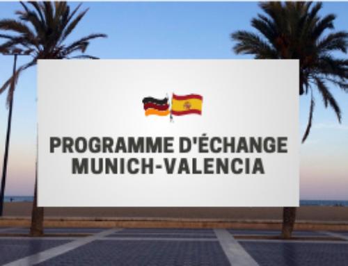 Présentation de l'échange Munich – Valencia