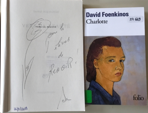 Rencontre avec David Foenkinos