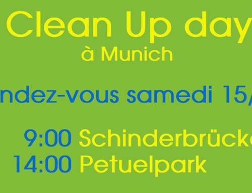 Eco-Ecole – Le word clean up day vu par « vivre à munich »