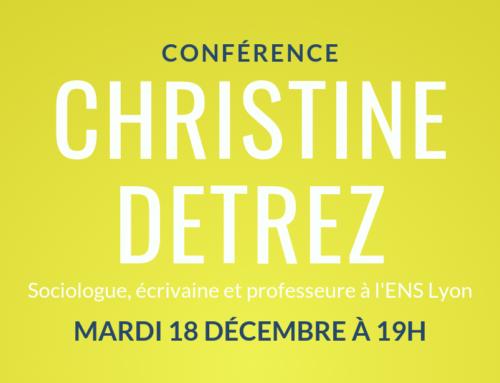 Conférence de Christine Détrez