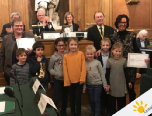 Une classe du Lycée Jean Renoir récompensée par le prix La main à la pâte à Paris