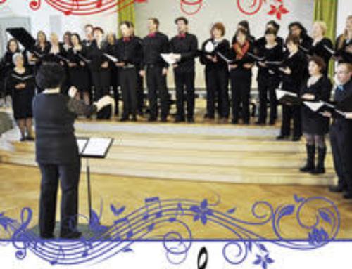 Concert-bénéfice de la chorale Atout Choeur au profit de Eco-Ecole