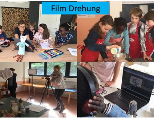 Giesing – « Silence, On tourne ! » : Création et diffusion dans les classes de 2 films sur les premières aventures de notre mascotte « Ecocat »