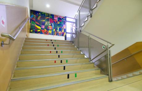 Intérieur de l'école/in der Schule