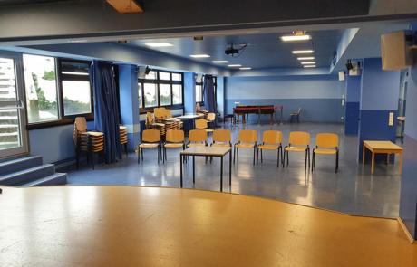 Salle bleue/Blauer Raum