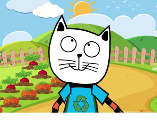 Giesing – Eco-Ecole et le projet « jardin »: la suite des aventures d'Ecocat