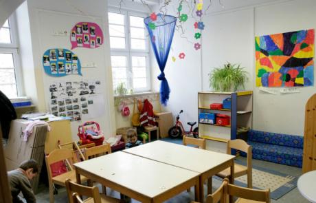 Salle de classe/Schulklasse