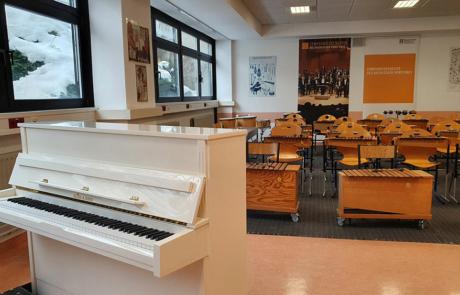 Salle de musique/Musikzimmer